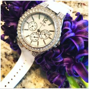 Guess Silicone Watch